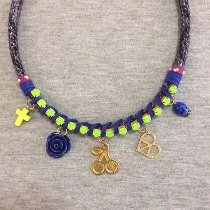Nature Necklace (Indigo)