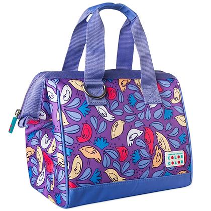 Birdie Lunch Box Handbag Violet