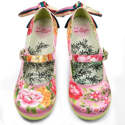 "Chocolaticas Mid Heels ""Kimono"""