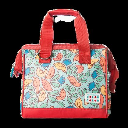 Birdie Lunch Box Handbag Light Orange