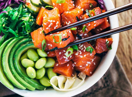 Poke Bowls For Lunch!