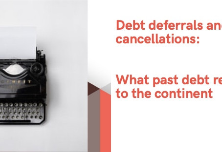 Debt referrals and cancellations: What past debt relief packages brought to Africa