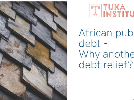 African public debt: Why another debt relief?