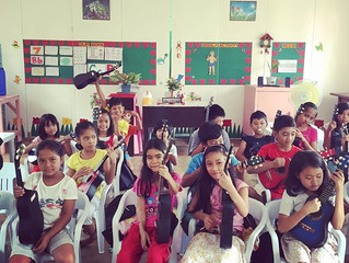Ukuleles in the Philippines