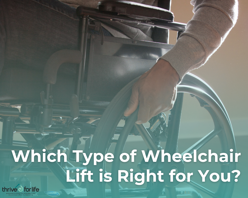 Which type of wheelchair lift is right for you?