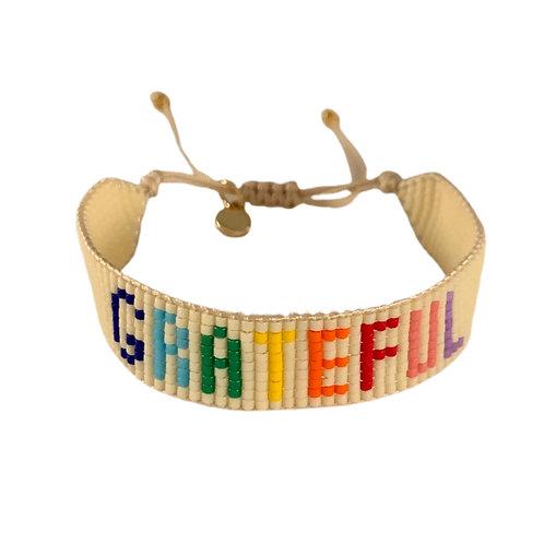 Friendship Bracelet-Grateful