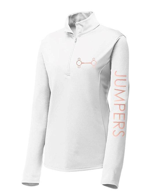 Jumpers 1/4 Zip Performance Long Sleeve