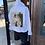 Thumbnail: Charlotte White Denim Jacket Size Small