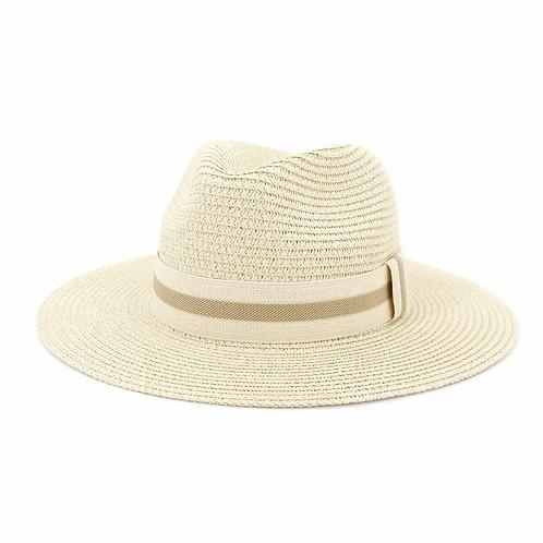 Stylish Women's Beach Outdoor Hat-milky white