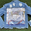 Thumbnail: The Charlotte cropped jean jacket SIZE SMALL