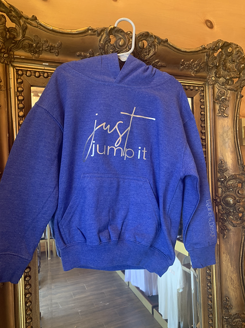 Just Jump It youth hoodie