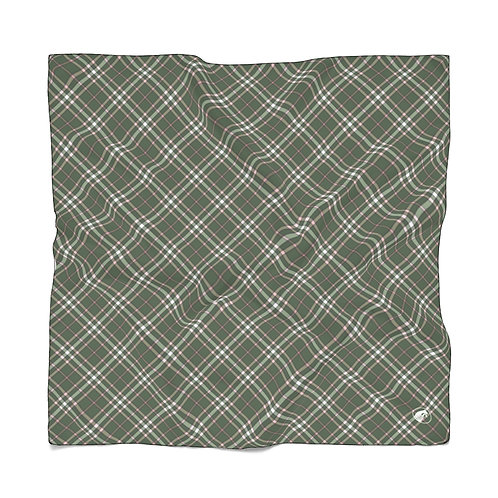 Poly Scarf in exclusive Equine & Design tartan print