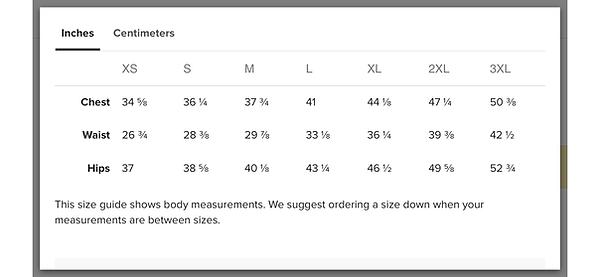 base layer size chart.png