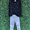 Thumbnail: Black Star Embroidered Sweater