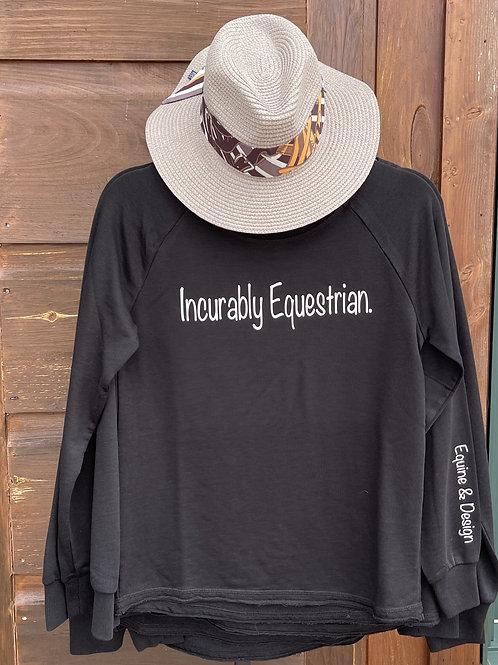 Incurably Equestrian sweatshirt