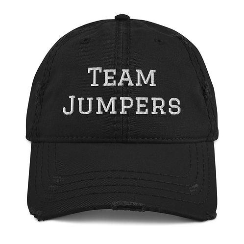 Team Jumpers Distressed Dad Hat