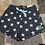 Thumbnail: Show Stopper Charcoal Shorts with Stars