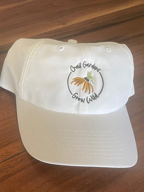 Grow Wild Hat - White