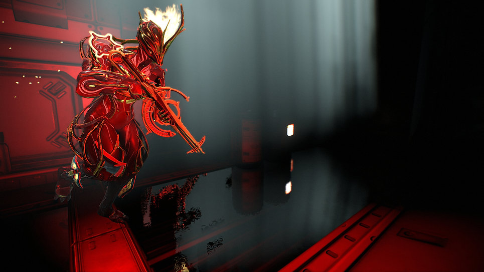 Ember Prime from Warframe