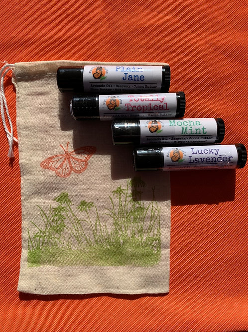 Herbal Lip Balms