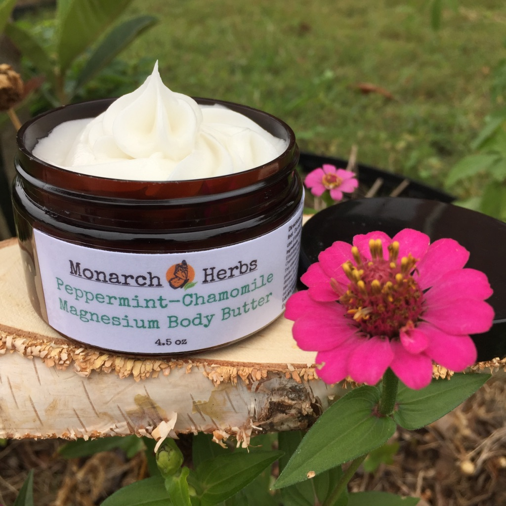 Peppermint-Chamomile Magnesium Body Butter