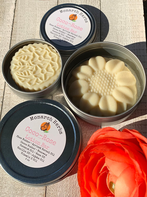 Coco-Rose Lotion Bar