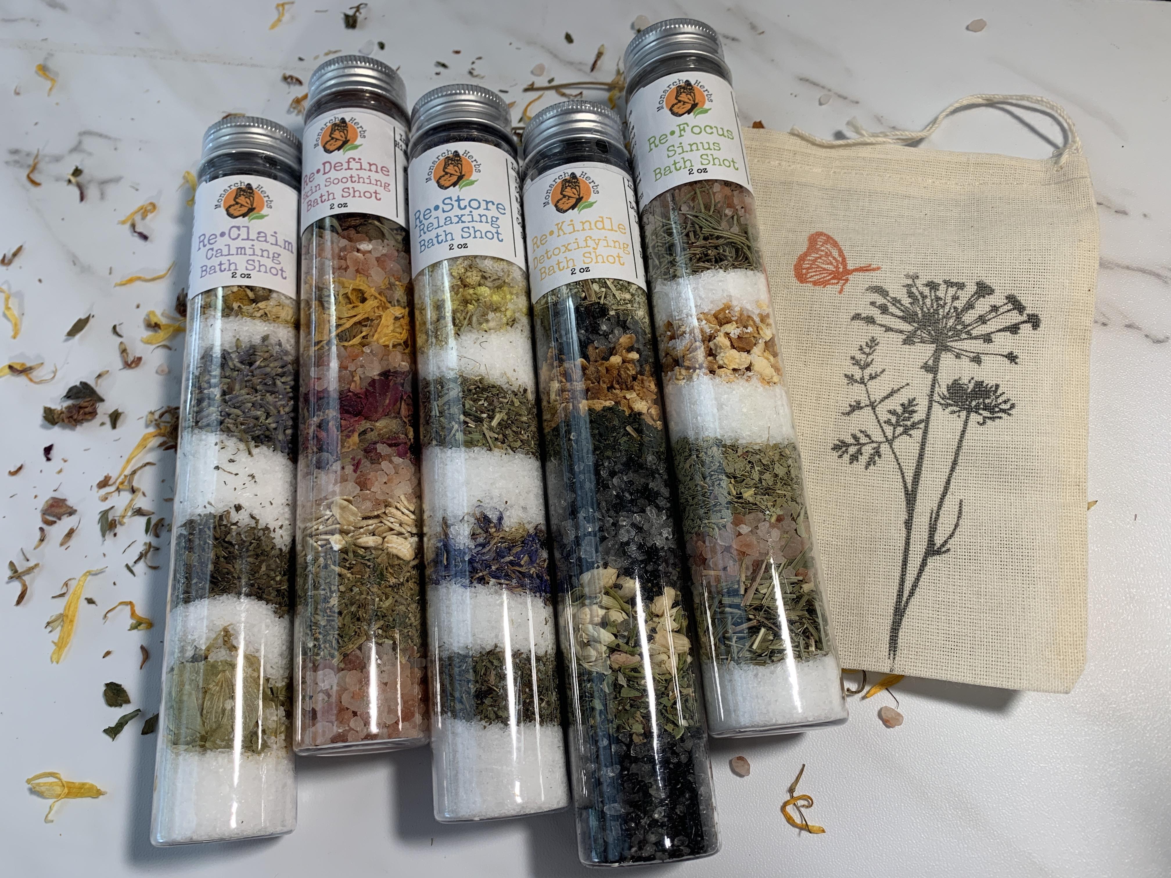 Herbal Bath Shots