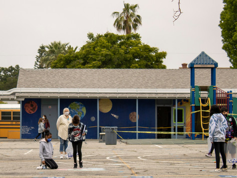 LAUSD reopens playgrounds