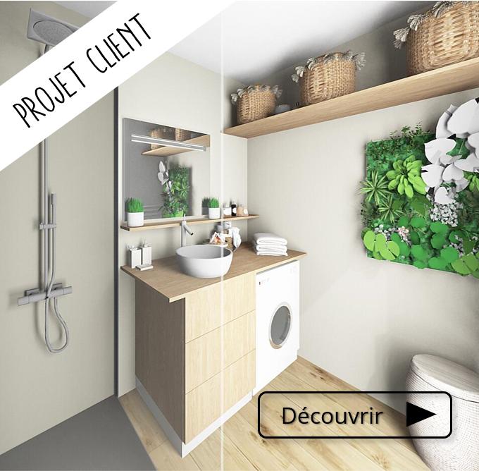 Aménagement d'une petite salle de bain // Décoration - rénovation