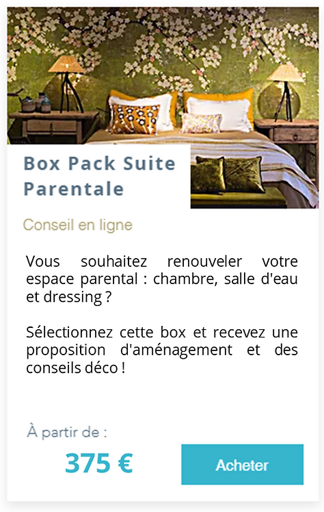 Box Pack Suite Parentale