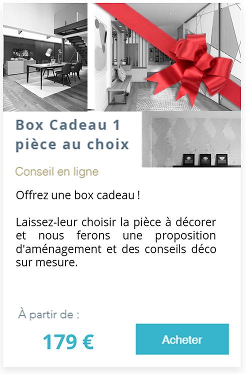 Box Cadeau 1 pièce au choix