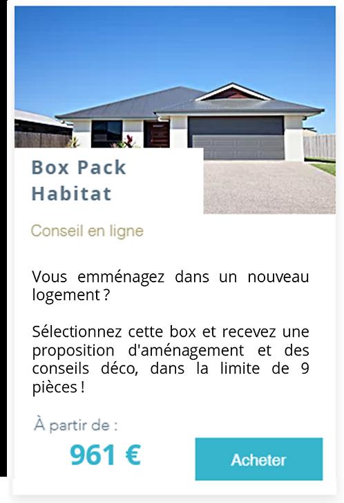 Box Pack Habitat