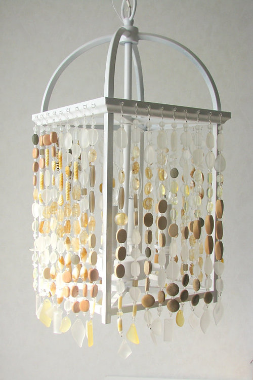 Coastal radiance lighting artisan crafted glass lighting sea glass chandelier coastal mission prairie beach craftsman ceiling fixture mozeypictures Image collections