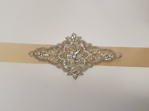 Central Embellished Bridal Belt