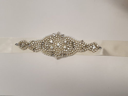 Central Embellished Bridal Belt