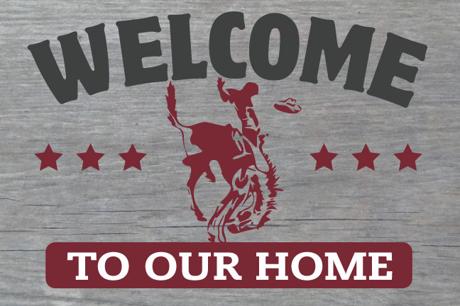 Welcome To Our Home - Horse & Rider