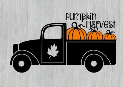 Pumpkin Harvest Truck