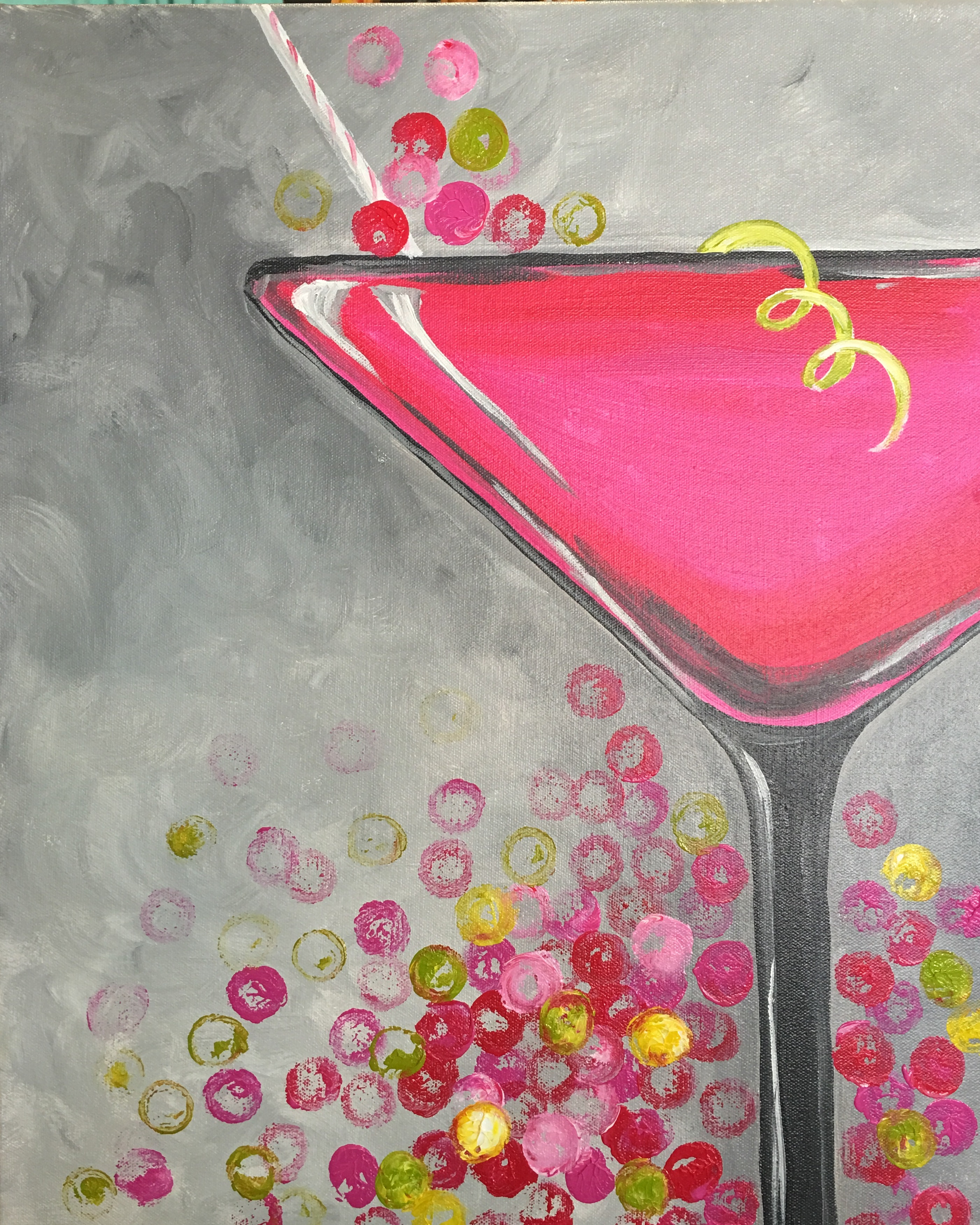 pink cosmo drink