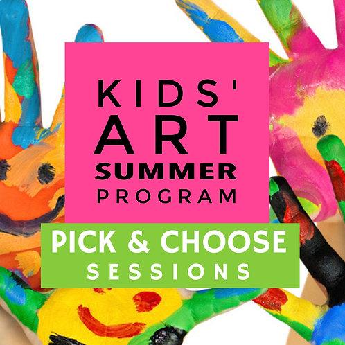 Kids Art Summer 2019: Pick & Choose Sessions