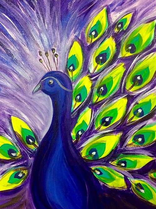 Peacock-Purple