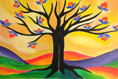 Tulip Tree for Two
