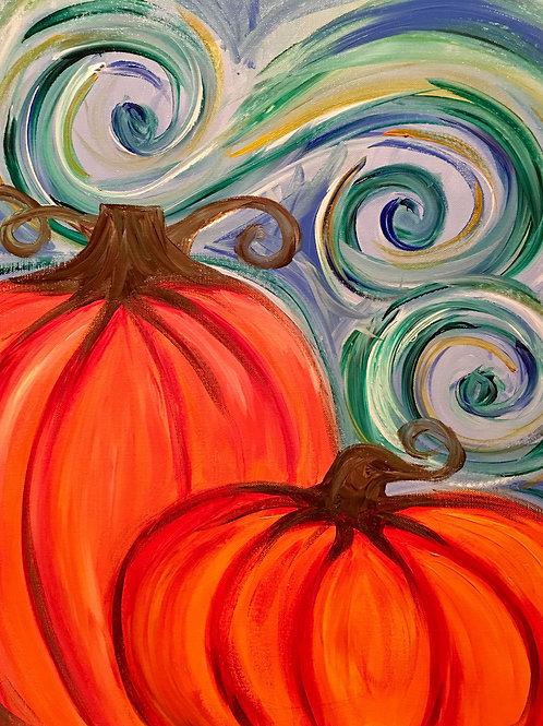 Pumpkin Swirl