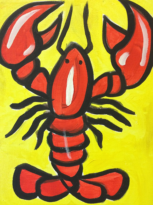 Under the Sea-Lobster