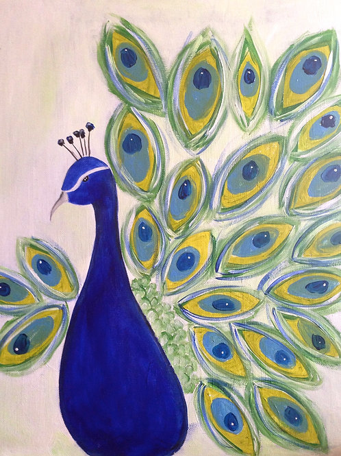 Peacock-Blue