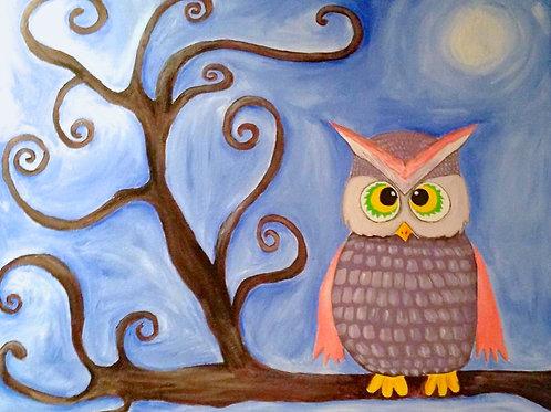 Swirlie Owl