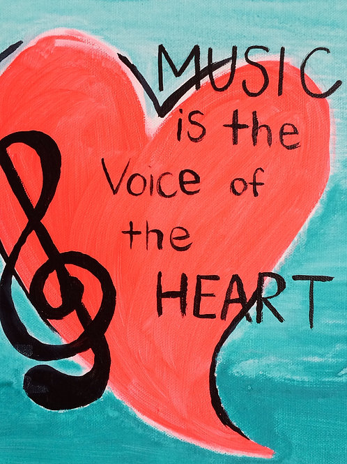 Heart-Music is the Voice