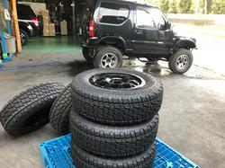 MKWのホイールと当社推奨タイヤ