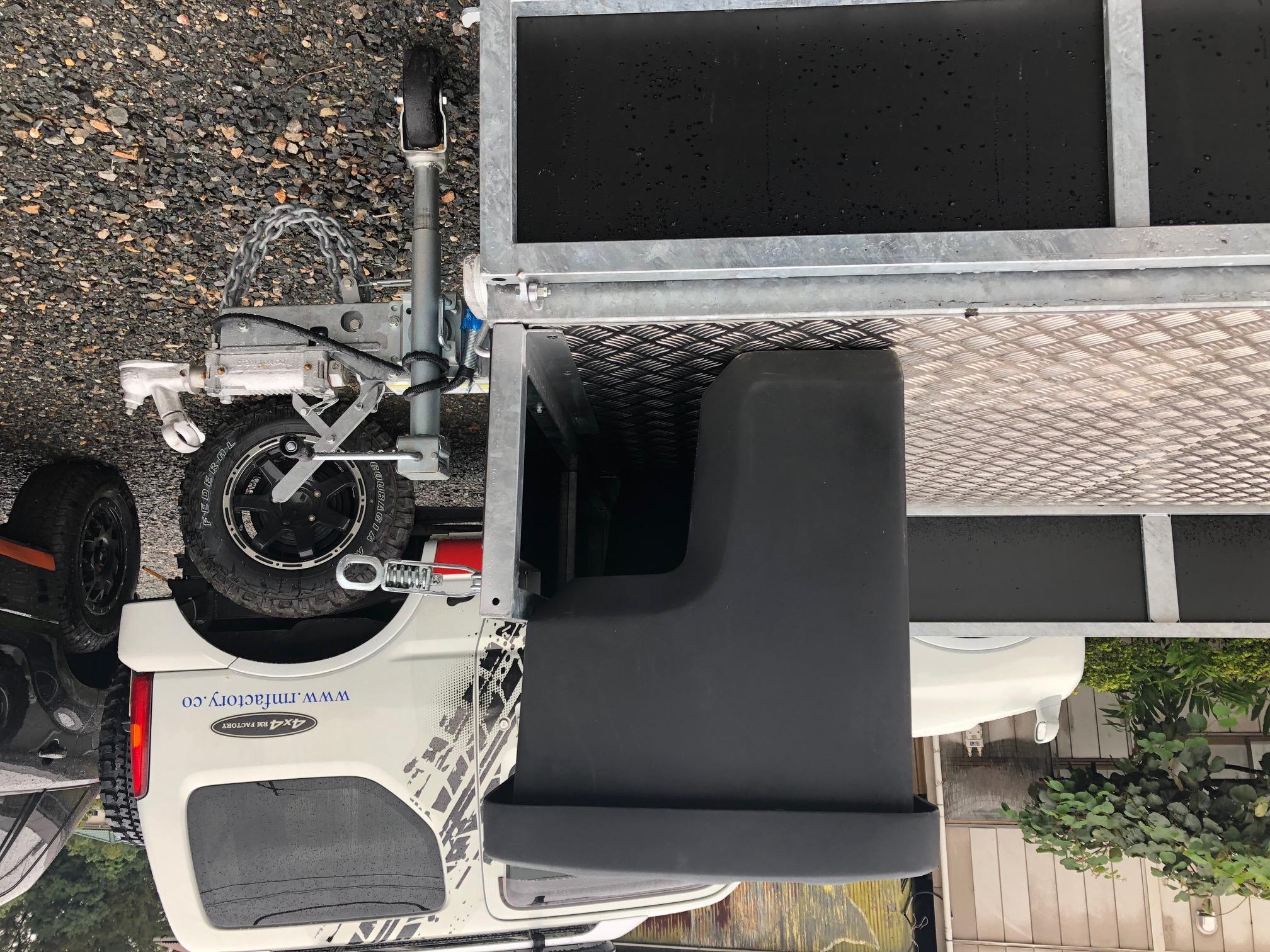標準装備のボックス下
