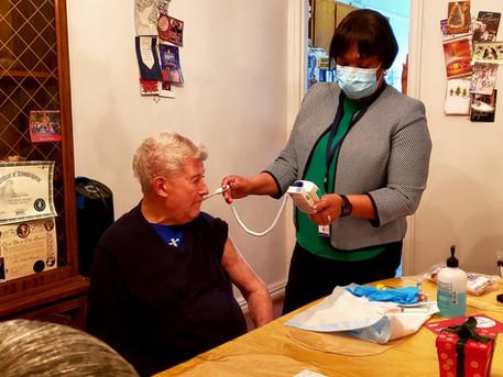 Bronx Rising Initiative Launches Homebound Seniors Vaccination Program