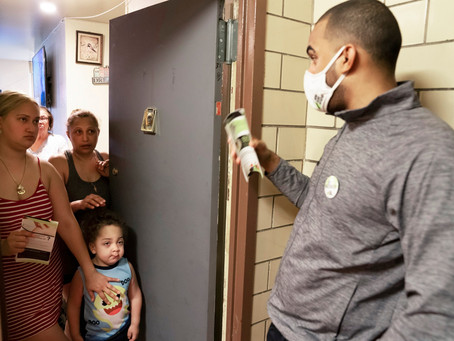 THE NEW YORK TIMES: They're Reluctant to Get Vaccinated. Will a Knock on the Door Help?
